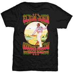Elton John Men's Tee: Goodbye Yellow Brick Road Vintage