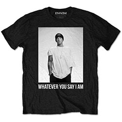 Eminem Unisex Tee: Whatever