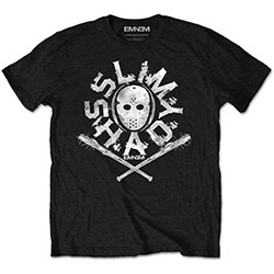 Eminem Unisex Tee: Shady Mask (Retail Pack)