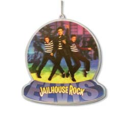 Elvis Presley Hanging Ornament: Jail house rocks
