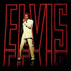 Elvis Presley Greetings Card: 68 Special