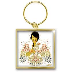 Elvis Presley Keychain: American Eagle (Photo-print)