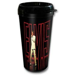 Elvis Presley Travel Mug: In Lights (Plastic Body)