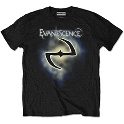 Evanescence Unisex Tee: Classic Logo (Retail Pack)