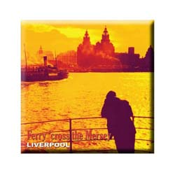 Magic Moments Fridge Magnet: Ferry Cross the Mersey