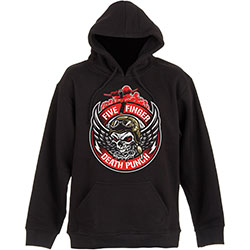 Five Finger Death Punch Unisex Pullover Hoodie: Bomber Patch