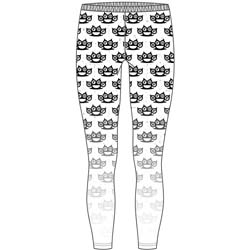 Five Finger Death Punch Ladies Fashion Leggings: Knuckleduster