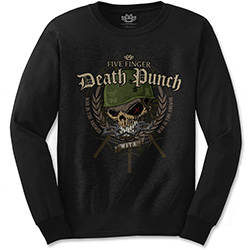 Five Finger Death Punch Unisex Long Sleeved Tee: Warhead