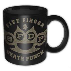 Five Finger Death Punch Boxed Standard Mug: Brass Knuckle