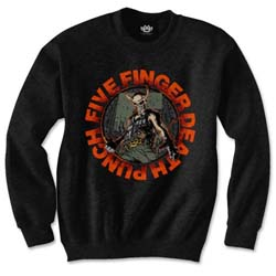 Five Finger Death Punch Unisex Sweatshirt: Seal of Ameth