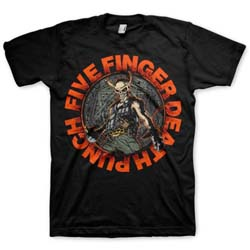 Five Finger Death Punch Unisex Tee: Seal of Ameth