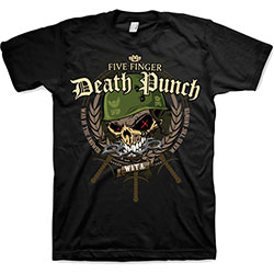 Five Finger Death Punch Unisex Tee: War Head