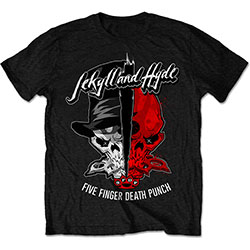 Five Finger Death Punch Unisex Tee: Jekyll & Hyde