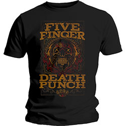 Five Finger Death Punch Unisex Tee: Wanted