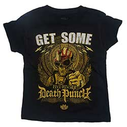 Five Finger Death Punch Kids Tee (Muscle): Get Some