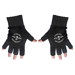 Avenged Sevenfold Unisex Fingerless Gloves: Death Bat