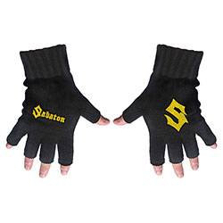 Sabaton Unisex Fingerless Gloves: Logo