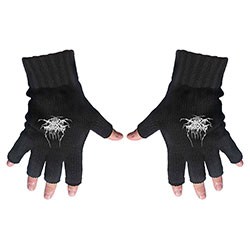 Darkthrone Unisex Fingerless Gloves: Logo