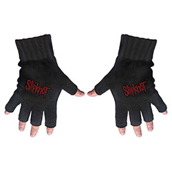 Slipknot Unisex Fingerless Gloves: Logo