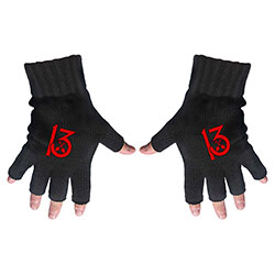 Wednesday 13 Unisex Fingerless Gloves: 13