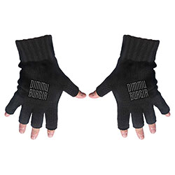 Dimmu Borgir Unisex Fingerless Gloves: Logo