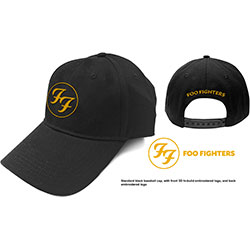 Foo Fighters Unisex Baseball Cap: Circle Logo