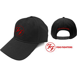 Foo Fighters Unisex Baseball Cap: Red Circle Logo