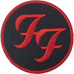 Foo Fighters Standard Patch: Circle Logo