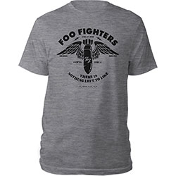 Foo Fighters Unisex Tee: Stencil