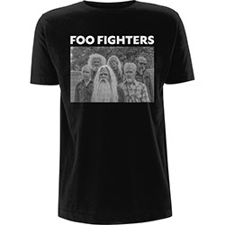Foo Fighters Unisex Tee: Old Band Photo
