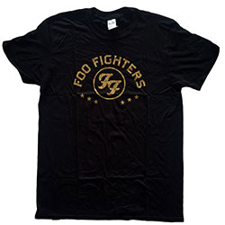 Foo Fighters Unisex Tee: Arched Stars