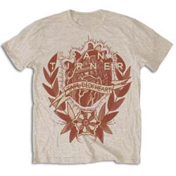 Frank Turner Men's Tee: Tape Deck Heart