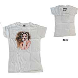 Lady Gaga Ladies Tee: Art Pop Teaser