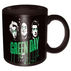 Green Day Boxed Standard Mug: Drips