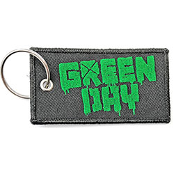 Green Day Keychain: Logo (Double Sided Patch)