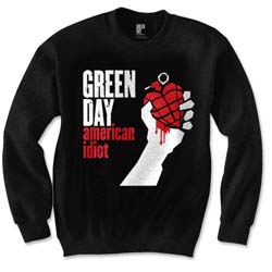 Green Day Unisex Sweatshirt: American Idiot