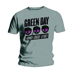 Green Day Unisex Tee: Three Heads Better Than One
