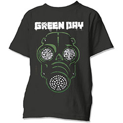 Green Day Unisex Tee: Green Mask