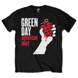 Green Day Men's Tee: American Idiot