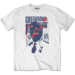 Green Day Unisex Tee: Patriot Witness
