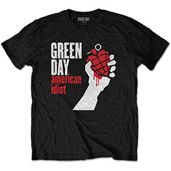 Green Day Unisex Tee: American Idiot