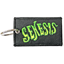 Genesis Keychain: Classic Logo (Double Sided Patch)