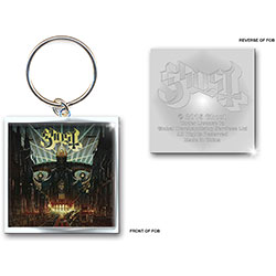 Ghost Keychain: Meliora (Photo-print)