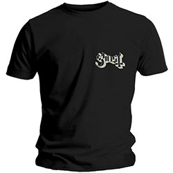 Ghost Unisex Tee: Pocket Logo