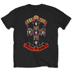 Guns N' Roses Unisex Tee: Appetite for Destruction