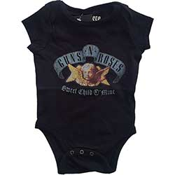 Guns N' Roses Kids Baby Grow: Sweet Child O' Mine