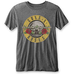 Guns N' Roses Unisex Tee: Classic Logo (Burn Out)