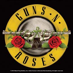Guns N' Roses Single Cork Coaster: Bullet