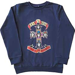 Guns N' Roses Kids Sweatshirt: Appetite for Destruction