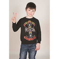 Guns N' Roses Kid's Sweatshirt: Appetite for Destruction (Youth's Fit)